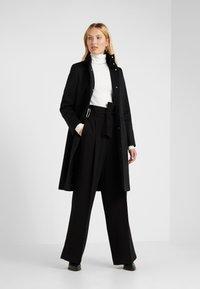 HUGO - MONATA - Zimní kabát - black - 1