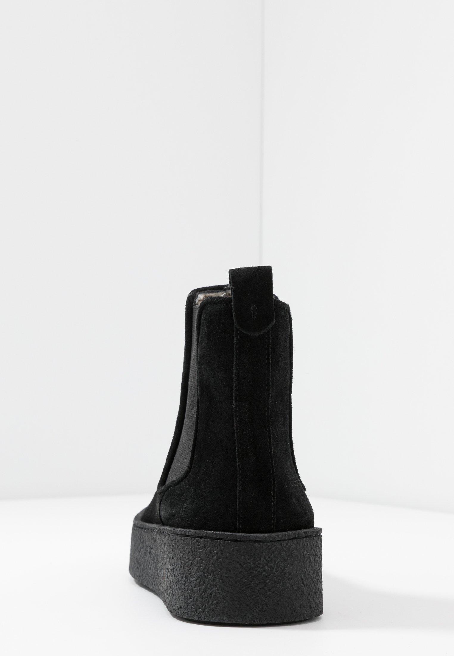 Billi Bi Platåstøvletter - Black/svart