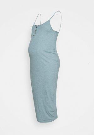 BUTTON FRONT CAMI DRESS - Korte jurk - smoke blue