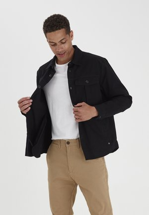 SDLOKE OVERSHIRT - Summer jacket - black