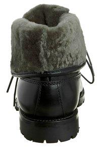 Prime Shoes - SANTO - Lace-up ankle boots - black - 1