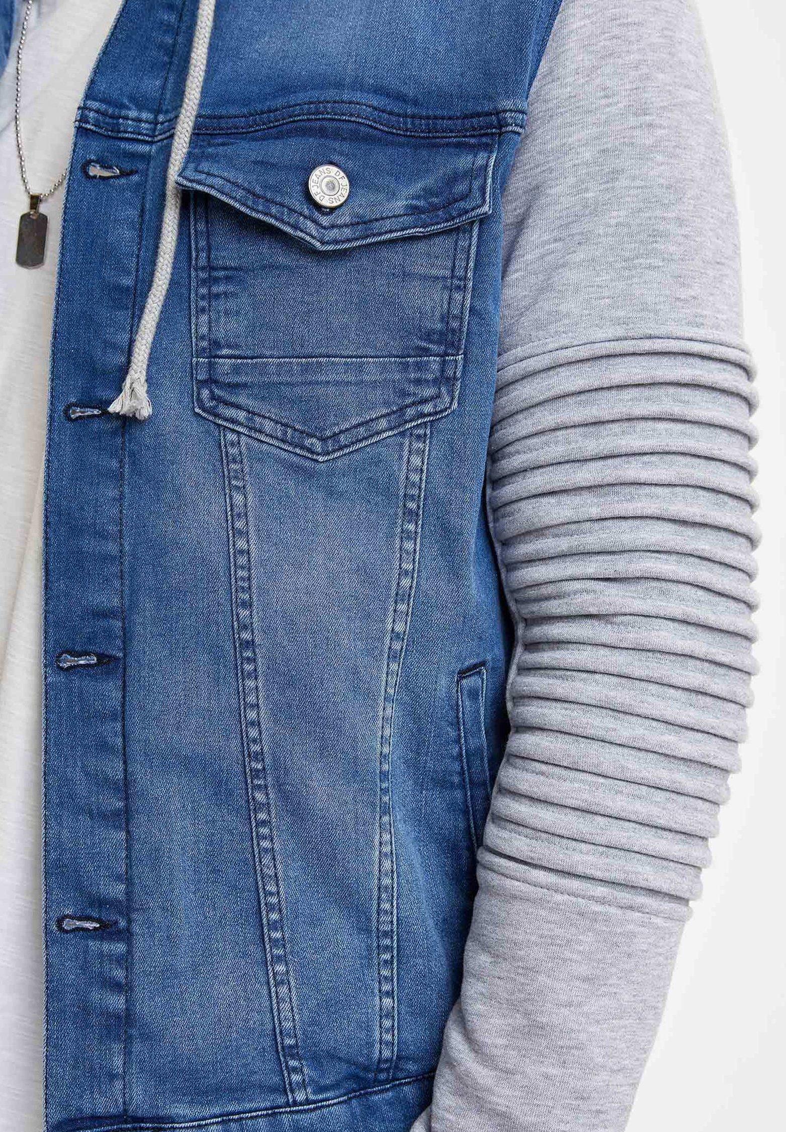 DeFacto Veste en jean - blue
