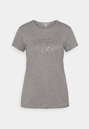 T-shirts med print - gunmetal
