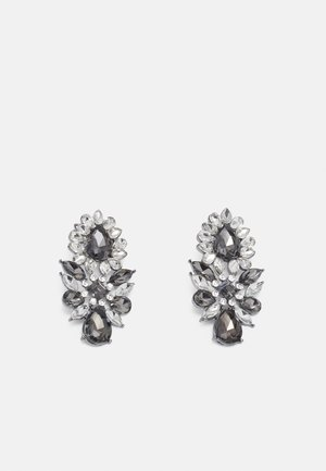 CREME - Earrings - silver-coloured/grey