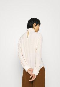 Sisley - BLOUSE - Camicetta - off-white - 2