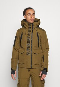 Superdry - ULTIMATE MOUNTAIN RESCUE - Ski jas - dusty olive - 0