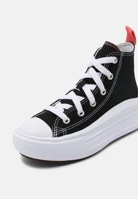 Converse - CHUCK TAYLOR ALL STAR MOVE COLOR POP - Baskets montantes - black/pink salt/white - 6