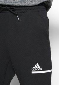 adidas Performance - SPORTSWEAR PRIMEGREEN PANTS - Träningsbyxor - black/white - 3