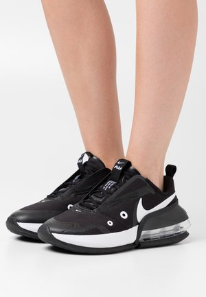 AIR MAX UP - Trainers - black/white/metallic silver