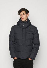 Blauer - GIUBBINI CORTI IMBOTTITO OVAT - Winter jacket - dark navy - 0