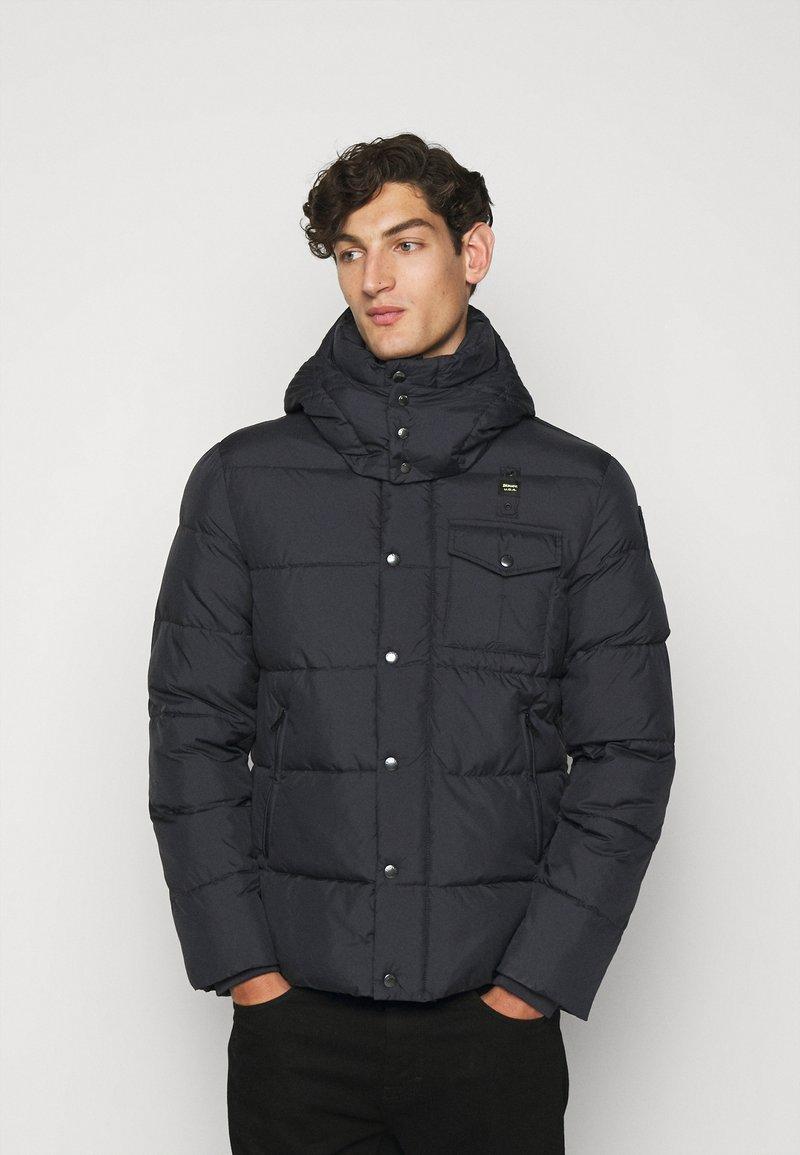 Blauer - GIUBBINI CORTI IMBOTTITO OVAT - Winter jacket - dark navy