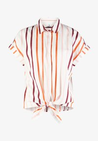 TOM TAILOR - BLOUSE WITH LIGHT STRIPES - Chemisier - offwhite - 5