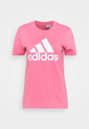T-shirt imprimé - rose tone/white