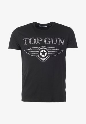 SCHLICHT BLING - T-shirt print - black