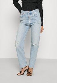 Agolde - 90'S PINCH WAIST - Straight leg jeans - flashback/light indigo - 0