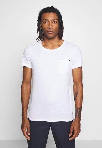 SLIM  - T-shirt - bas - white