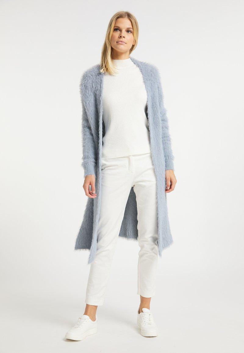 usha - Cardigan - blau grau