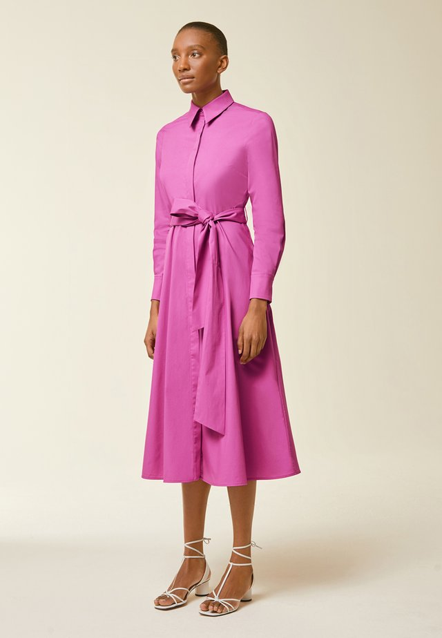 Shirt dress - super pink