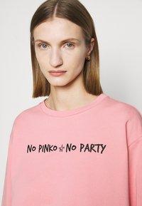 Pinko - ALGEBRA MAGLIA - Sweatshirt - pink - 3