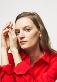 Steffen Schraut - EXCLUSIVE BLOUSE DRESS - Shirt dress - flash red - 3