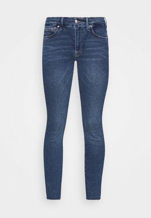 LEGS RAW EDGE - Jeans Skinny Fit - blue