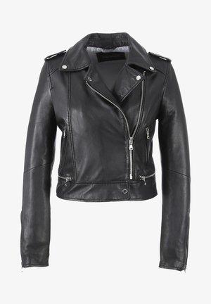 YOKO - Leren jas - black