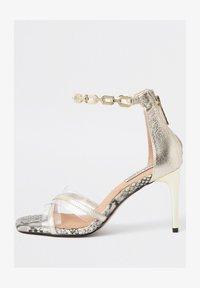 River Island - High heeled sandals - yellow - 1