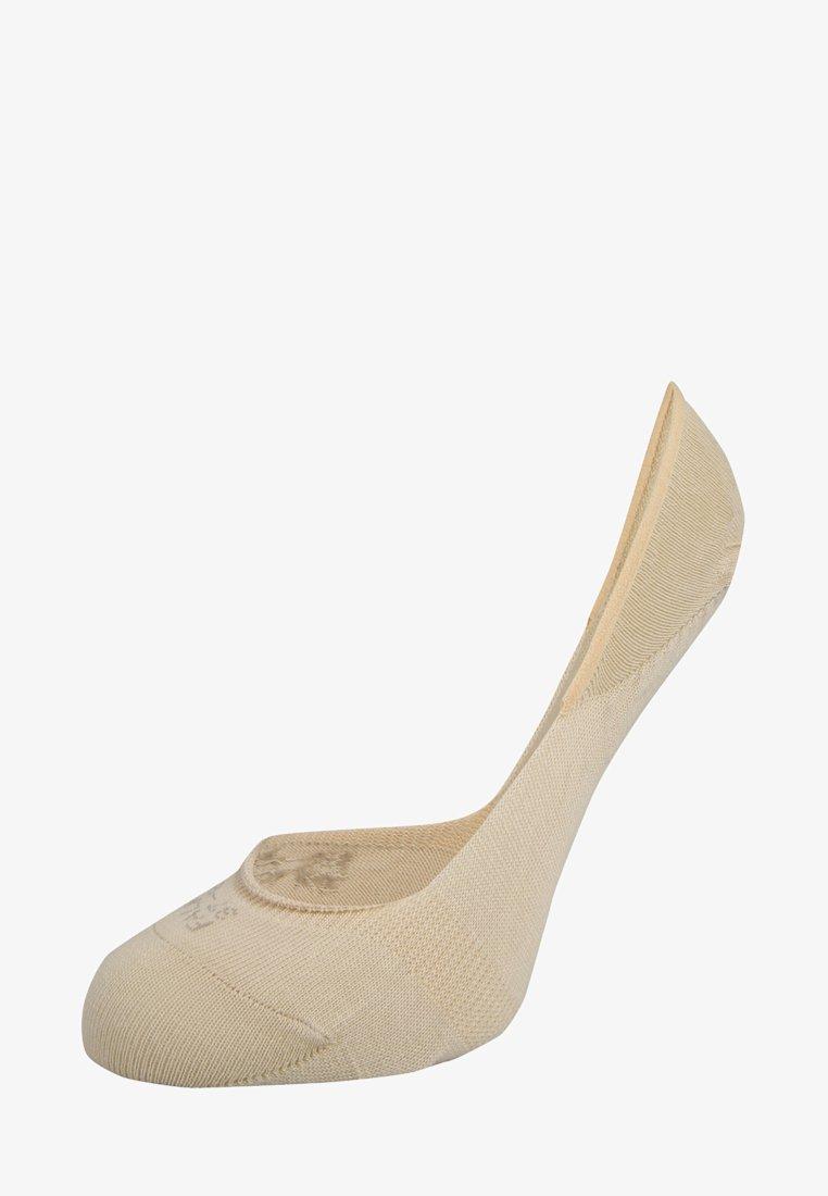 FALKE - STEP INVISIBLES - Trainer socks - cream
