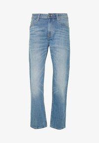 TRAD - Jeansy Straight Leg - mid stone wash denim  blue