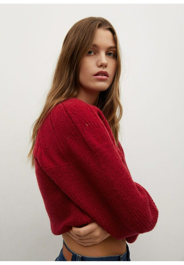 AIRY - Pullover - fresa
