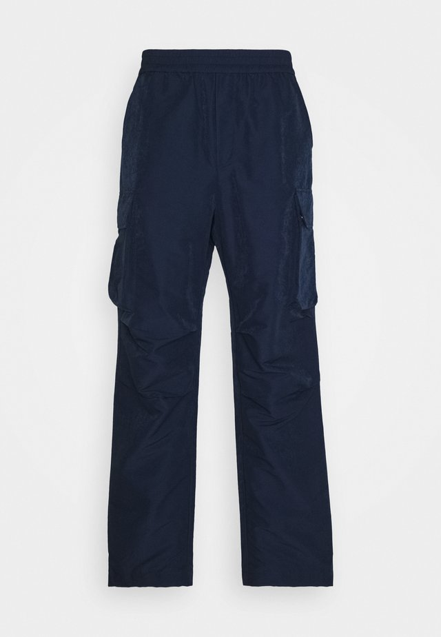 HALSEY TROUSERS - Cargo trousers - navy