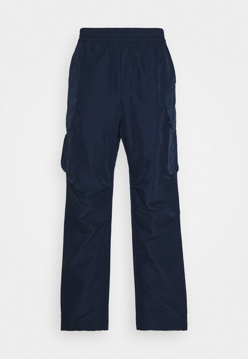Wood Wood - HALSEY TROUSERS - Cargo trousers - navy