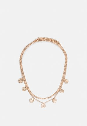 NECKLACE POESY 2 PACK - Necklace - rosegold-coloured