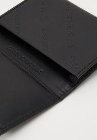Calvin Klein Jeans - DIAGONAL MONOGRAM FOLD - Wallet - black - 3