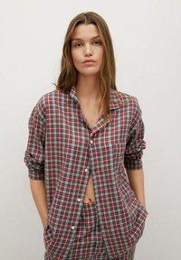 Mango - SUNDAY-I - Pyjama top - rød - 0