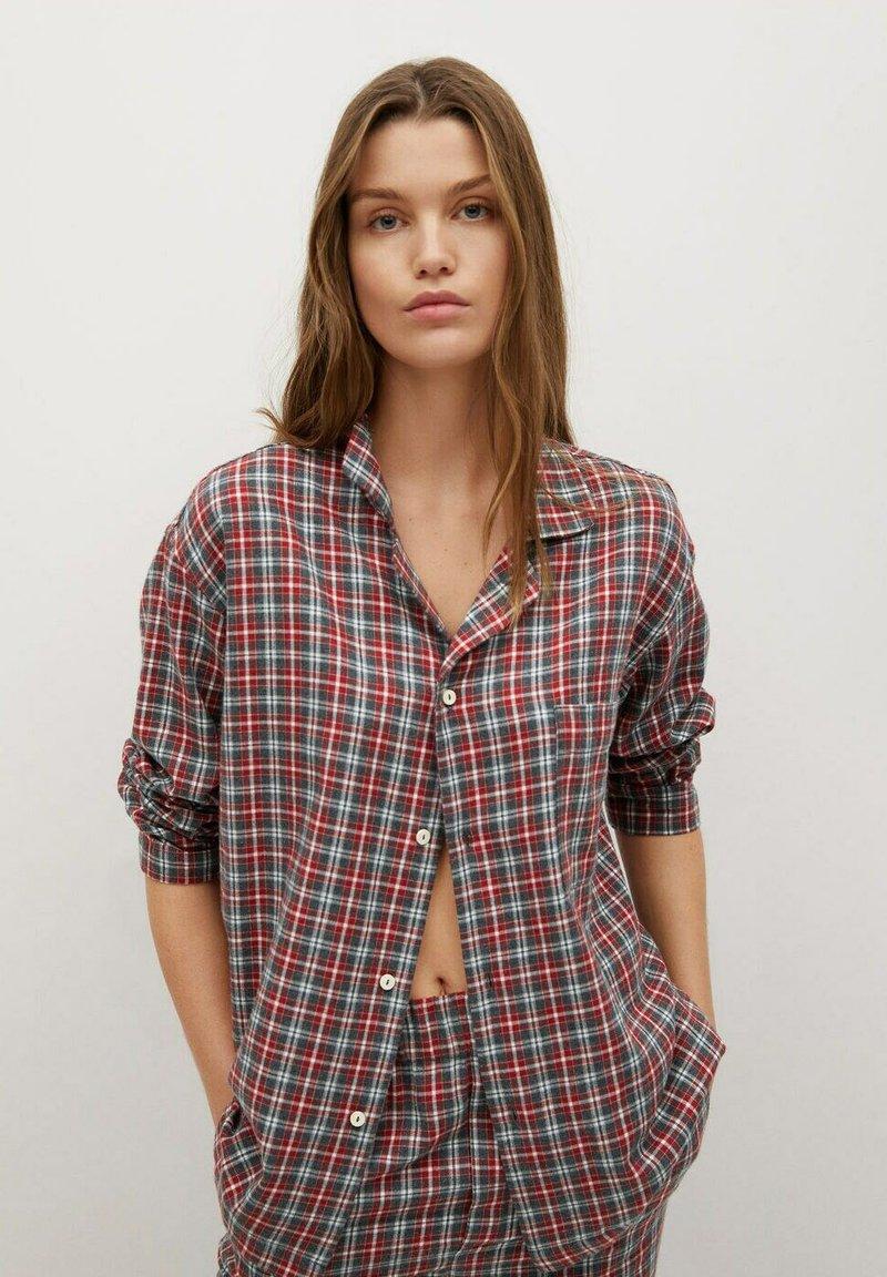 Mango - SUNDAY-I - Pyjama top - rød