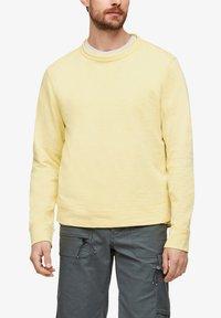 s.Oliver - Sweatshirt - light yellow - 3