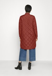Selected Femme - SLFNATALIA QUILTED COAT - Bomber Jacket - smoked - 2