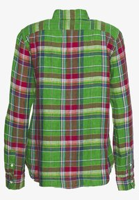 Polo Ralph Lauren - GEORGIA CLASSIC LONG SLEEVE - Button-down blouse - green/orange - 1