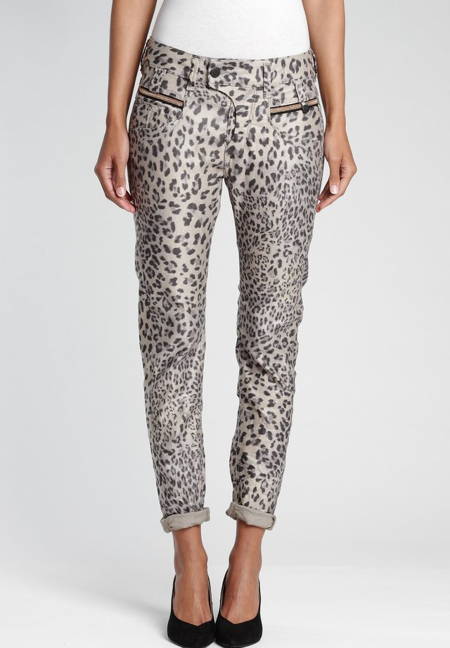 MARGE  - Slim fit jeans - shiny leo