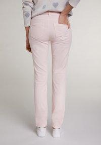 Oui - Slim fit jeans - peach whip - 2