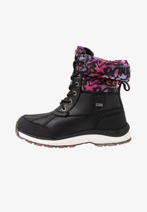 ADIRONDACK GRAFFITI - Winter boots - black