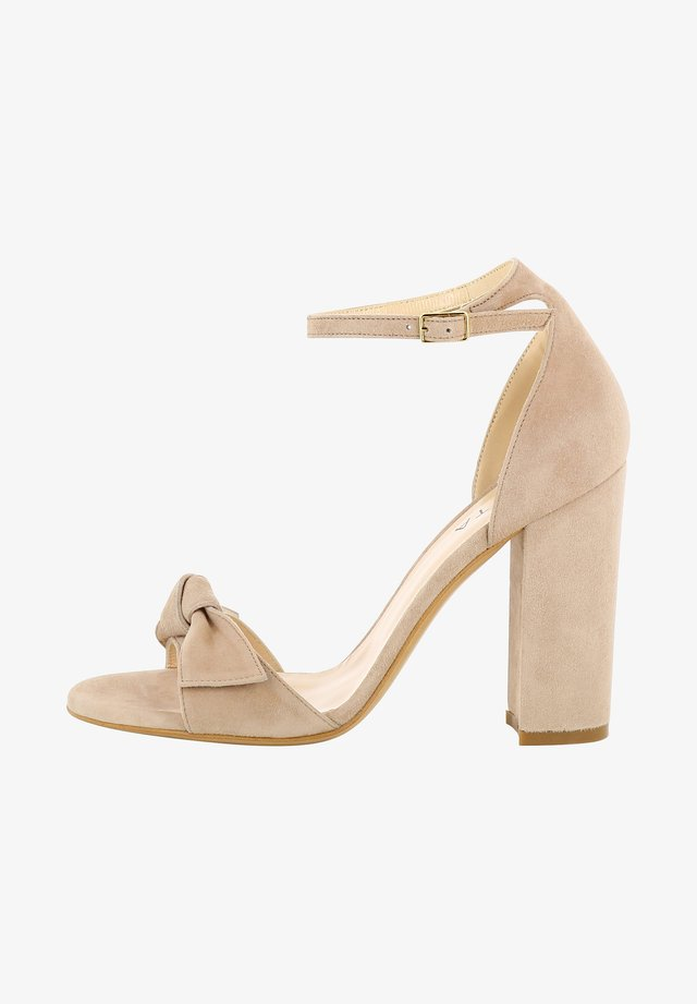 EVA - High heeled sandals - nude
