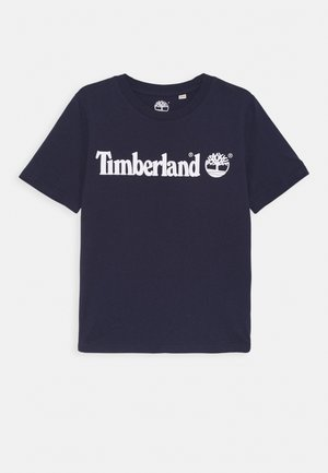 SHORT SLEEVES TEE - Printtipaita - navy