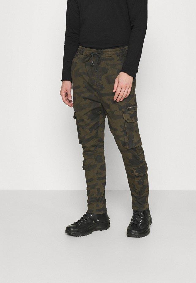 ASKERN - Cargo trousers - khaki