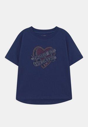 SHORT SLEEVES - Basic T-shirt - blue