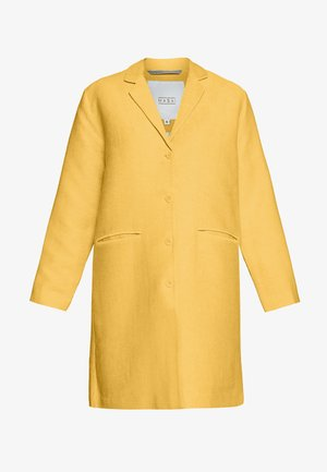 TURA - Zimní kabát - cream gold