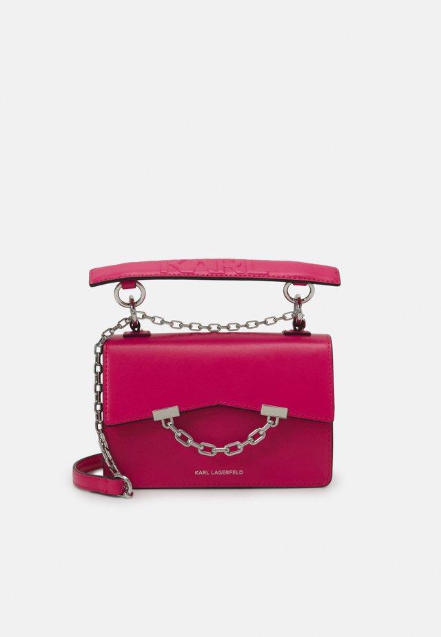 SEVEN MINI SHOULDERBAG - Sac à main - peony pink