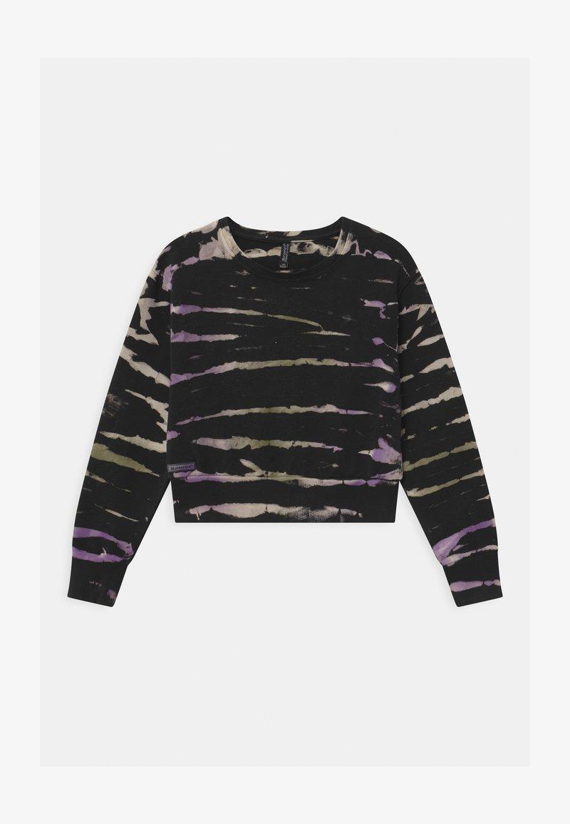 Blue Effect - GIRLS BOXY  - Sweatshirt - lila/black