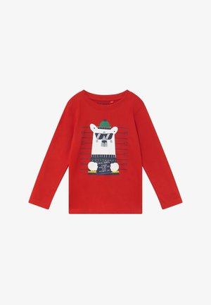 KIDS CHRISTMAS - Top sdlouhým rukávem - rot
